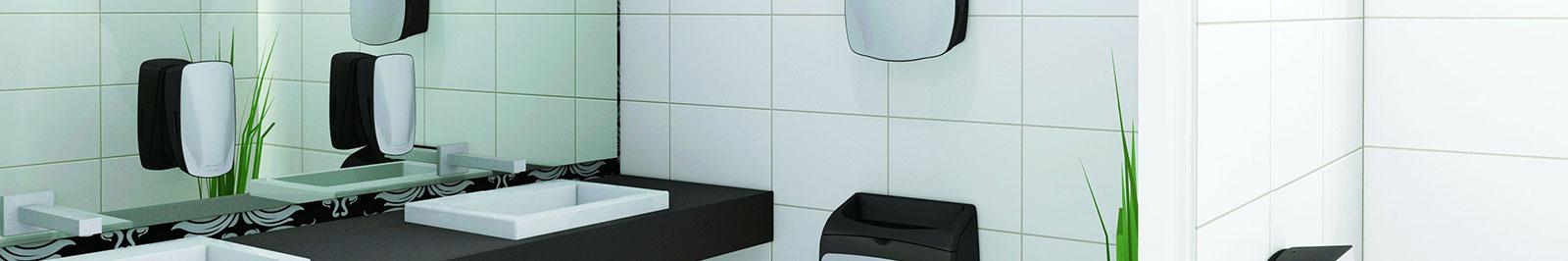 d3b64e07fbec5f Waschraum  Papierhandtuchspender Stoffhandtuchspender – Waschbär Hygiene- Service von Guretzky-Cornitz GmbH