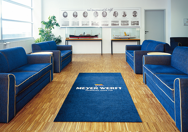 Fabulous Schmutzmatten (outdoor / indoor) mit Waschservice – Waschbär VG68